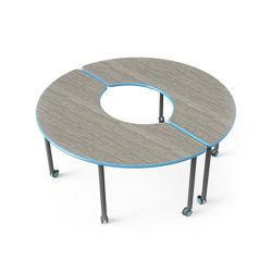 Школа изучения учащихся в классе стол и стул с помощью металлического Fixed-Height ноги