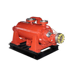 Horizontale Schone het Voeden van de Boiler van het Water Meertrappige Pomp met Motor