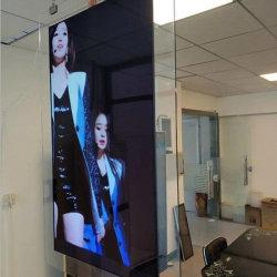 Hängender drehbarer doppelter mit Seiten versehener Innenanzeigen-Media-Digital-Bildschirm-Bildschirmanzeige-Monitor-Kiosk ultra dünner LCD-Spieler