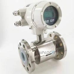 Vacorda Caudalímetro electromagnético líquido transmisor de flujo magnético