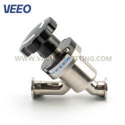 Руководство по ремонту Y линейный тип вакуумного ISO CF Kf клапана угла поворота с помощью упругого элемента