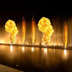 La décoration du paysage de l'eau à grande échelle de la musique de danse Fontaine d'incendie