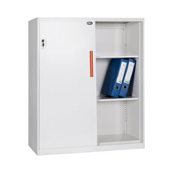 Bord étroit Fashion Design Flat Pack Cabinet Porte coulissante armoire de cuisine en métal