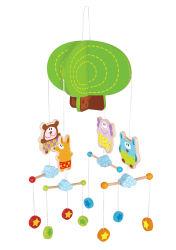 Hölzernes Baby-beweglicher Zoo für Säuglingsspielwaren