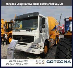 Veículo de transporte de cimento HOWO 9m3 Betoneira Caminhão (ZZ1257N3641)