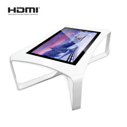 Touchscreen Smart Information Bar Table Display