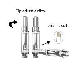 Atomizzatore di vetro di Cbd della cartuccia del vaporizzatore della cera dell'olio di canapa di Thc