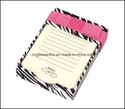 자체 제작 종이 상자가 있는 고품질의 메모 패드/메모 패드