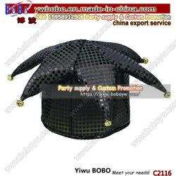 مواد الحفلة هالوين ازياء ملحق الترويجية قبعة الحزب مضحك قبعة مجنون (C2116)