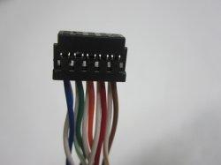 Chicote de fios para aplicação automática, com tubo retrátil, com Conectores do Alojamento Dupoot2.54mm
