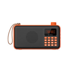 Le Président de radio FM de la marque Shidu Outdoor Case audio Bluetooth