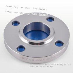 ASTM A105/ASMEの鋼鉄フランジのB16.5によって造られる溶接の首のスリップ