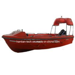Nave di soccorso arancione marina di soccorso della strumentazione CISLM Gfrp 6p