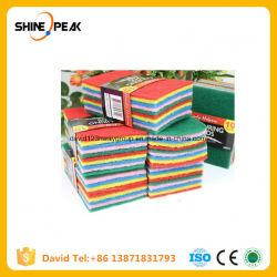10PCS 다채로운 Microfiber 닦는 패드