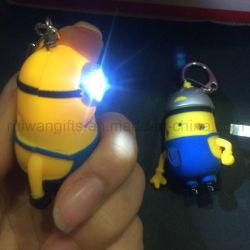 Me odioso Minions lanterna LED Keyring Torch (LKC011)
