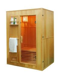 Finnische traditionelle nasse Sauna-Raum-Dampf-Sauna-heißes Haus