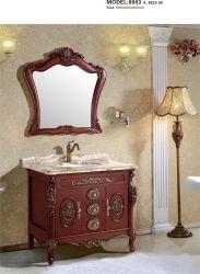 Antike Luxus-Badezimmer Waschbecken Schrank Eitelkeit