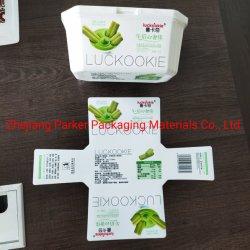 Logo personnalisé imprimé PP 8oz alimentaire personnalisé les cuvettes de crème glacée avec couvercle et cuillère