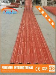 Strato rivestito di plastica del tetto del PVC Roofing/UPVC del tetto Tile/ASA di Pingyun