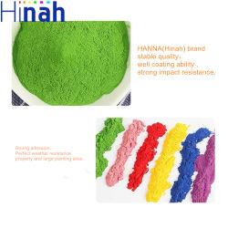 Polvere verde del rivestimento della polvere di Ral 6005 per il pannello di controllo