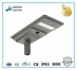Proveedor de Ningbo 20W 30W 50W 60W Soalr Calle luz LED con certificación ISO CE CB