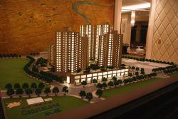 Architecturale Model van Residential Building (jw-112)