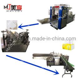 Des performances stables de tissus Ligne d'emballage de production de papier avec le bord le gaufrage