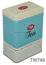 Vierecks-Tee-Zinn-Kasten-Nahrungsmittelgrad-Blechdose-Metallzinn