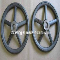 Moulage de précision CNC la partie main la roue avec l'acier inoxydable