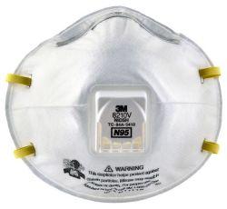 كمامة 3M Particulate paimator 8210V، حماية التنفس N95