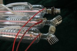 Puri catalizador de alta potencia tubo láser de CO2-M