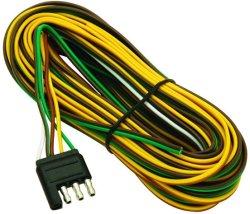 Cablaggio di collegamenti del rimorchio di stile di Wishbone con il connettore 4-Flat