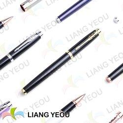 Penna di pubblicità multicolore creativa della penna metallica del gel con la ricarica del gel