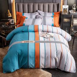 Сделано в Китае новый продукт постельные принадлежности набор мягкой хлопчатобумажной ткани для двуспальной кроватью в мастерской