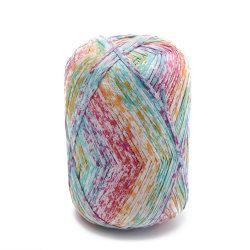 100% cotone seta filati per lavorazione a mano Novità filati