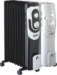 Olio - ventilatore riempito del basamento del riscaldatore di ventilatore del Ce contabilità elettromagnetica LVD RoHS del riscaldatore