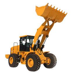 Costruzione compatta media articolata la Cina di tonnellata Er50 di Everun 5 e caricatore a cucchiaia agricolo della pala della rotella dell'azienda agricola da vendere il caricatore della parte frontale del Ce 4WD