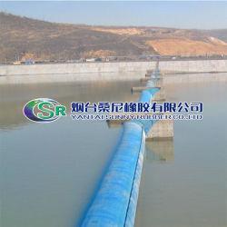 밝은 공기 충전물 또는 물 채우는 고무 댐