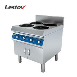 Коммерческие четырех горелок индукционные плиты диапазона для кухни