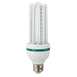 Bombilla de ahorro de energía de alta potencia 32W 40W 48W LED Lámpara de aluminio de plástico de la luz de maíz
