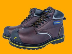 2021 أحذية السلامة الجلدية المقاومة للزيت تعزز الأسعار الصلب حذاء الأصابع يعزز أحذية السلامة الصناعية للرجال