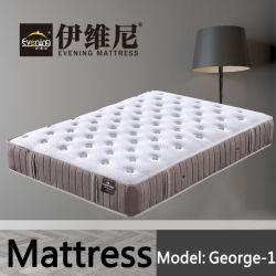 卸売のための寝具の波の泡のポケットスプリング入りマットレスのベッド