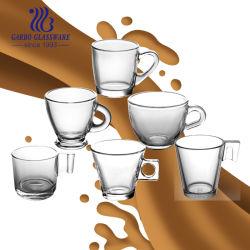 4 унции ретро помощи очистить стекло для приготовления чая и кофе цветов Sun кружки кружка
