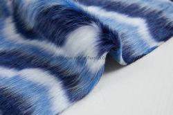 Tessuto generale della coperta della pelliccia artificiale del tessuto di Minky del mucchio della peluche del Faux della pelliccia del tessuto della pelliccia lunga di falsificazione