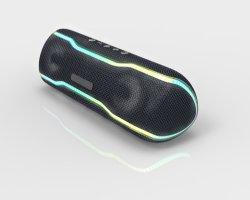 F10c LED 무선 스피커 IPX7 실외 휴대용 스테레오 Bluetooth 스피커