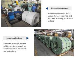 309S RVS-spoelstrip/ASTM JIS-standaard/ISO IBR-certificering/gegalvaniseerd gepolijst/heet Rol koude getrokken roestvaststalen spoel voor de bouwfabriek