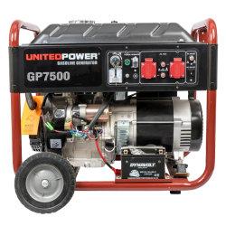 Elektrische bewegliche Benzin-Generatoren des Gp7500e Energien-Treibstoff-Inverter-5000W 6000W
