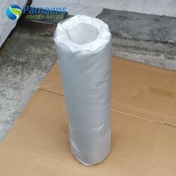 カスタマイズされた送風管の取り外し可能な絶縁体は/Jacketのケイ素によってを塗られるガラス繊維の管の絶縁体カバーする