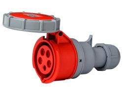 32 um elevado efeito retardador de chama do conector do soquete da tomada industriais