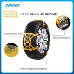 Outil d'urgence d'accessoire de voiture de chaînes à neige la traction des pneus